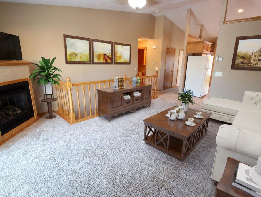 Sokota Upstairs Living Room Virtual Staging